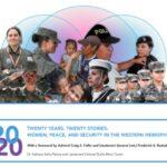 Veinte años, veinte historias: mujeres, paz, y seguridad en el hemisferio occidental.